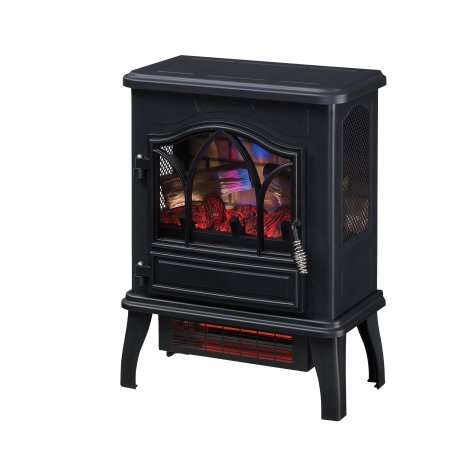 UPC 689833688908, Duraflame 3D Infrared Quartz Electric Fireplace Stove, Black