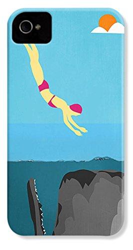 "iPhone 4 Slim Case ""Minimal Sea Life"" by Pixels"