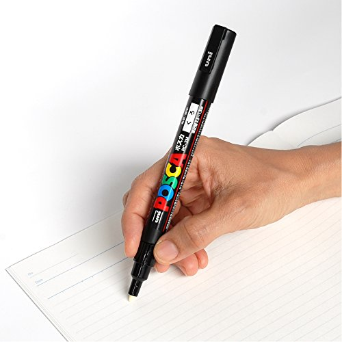 Uni-posca Paint Marker Pen - Fine Point - Set of 15 (PC-3M15C) by uni (Image #3)