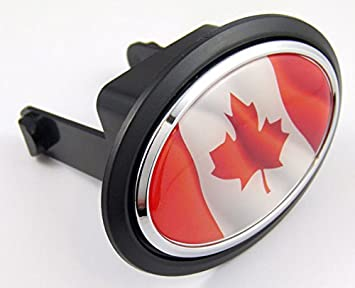 Canadian Flag Hitch Cover