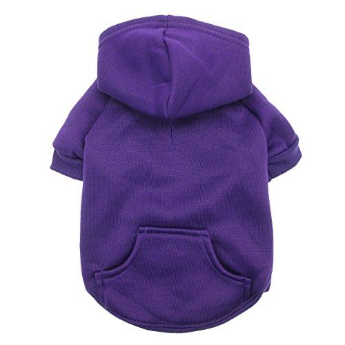Barking Basics Hoodie Purple Medium