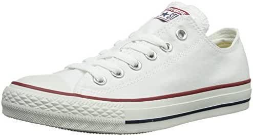 Converse Unisex Chuck Taylor All Star Ox Sneakers Navy M9697 (6 Men = 8 Women, Optical White)