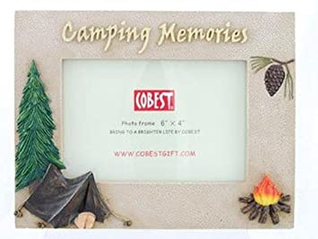 camping memories photo frame 8inch 4x6