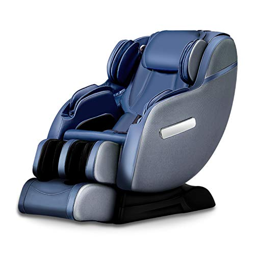 Real Relax 3D Massage Chair Recliner with Bluetooth, Space Saver, Body Scan, SL Track, and Assembled