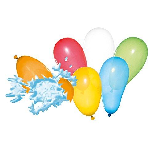 Susy Card 11142007 - Wasserbomben, farbig, sortiert, 100 Stück