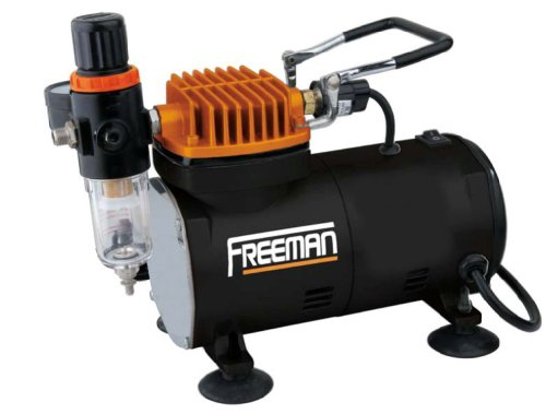 Freeman CO2MAC Mini Compresor de Aire/Air Brush