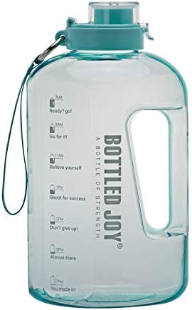 BOTTLED JOY Half Gallon Water Bottle, BP