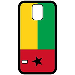Guinea Bissau Flag Black Samsung Galaxy S5 Cell Phone Case - Cover