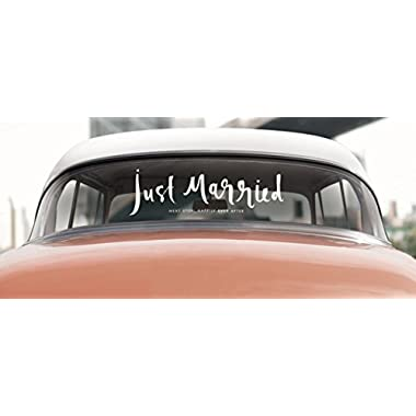 kate spade new york Window Cling, Just Married