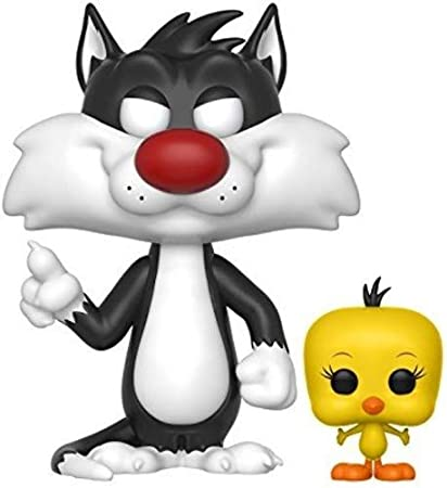 Funko Pop Animation Looney Tunes-Sylvester and Tweety
