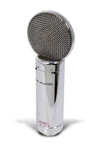 Pattern Large Diaphragm Tube Condenser - M-Audio Sputnik Multi-Pattern Large Diaphragm Vacuum Tube Condenser Microphone