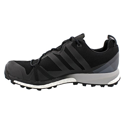 adidas outdoor Mens Terrex Agravic GTX Shoe Black, Black, White