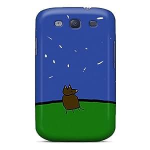 HHaroldshon Slim Fit Tpu Protector EJTaWuk192dJrKb Shock Absorbent Bumper Case For Galaxy S3