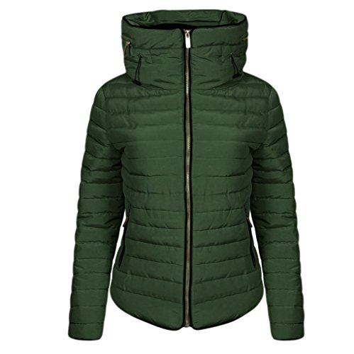 Hip High High Quality Quilted Plain Jacket Inside amp;F Zipped Girls 8 Up Zip Winter Full Length H Fur Women Faux Puffer Size Padded Zara Ladies khaki Long L Sleeve Collar 14 12 Coat Bubble Inspired 10 IUxwq