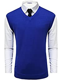 Tom's Ware Mens Casual Pullover V-Neck Sweater Vest