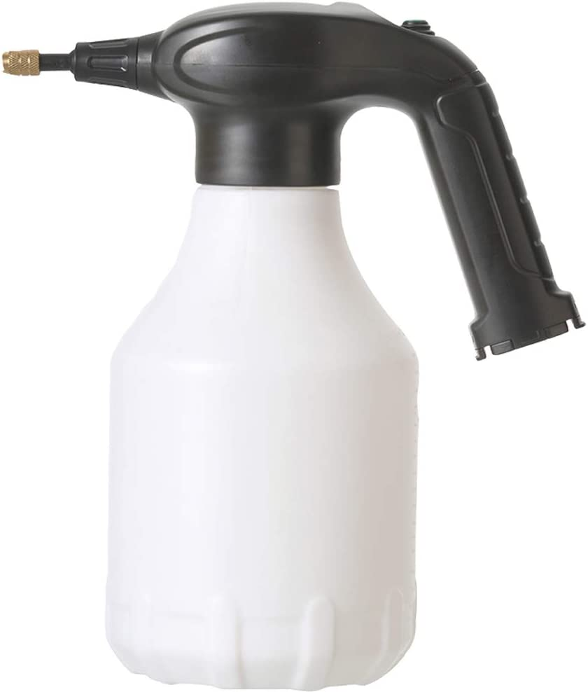 ITISLL Garden Electric Wireless Sprayer Handheld Portable Water Mister Spray Bottle for Yard & Lawn Plant Weeds (0.5 Gallon White 1.5A)…
