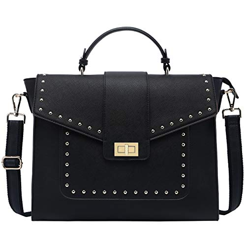 15.6 Inch Laptop-Briefcase-for-WomenClassic Black