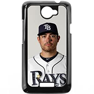 MLB&HTC One X Black Tampa Bay Devil Rays Gift Holiday Christmas Gifts cell phone cases clear phone cases protectivefashion cell phone cases HABC605584199