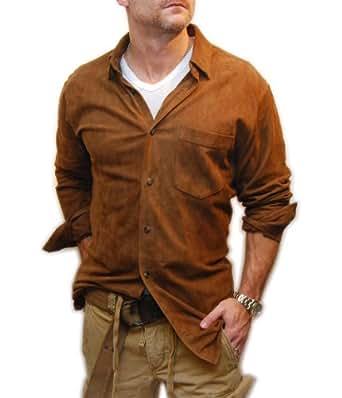 Ralph Lauren Polo Mens Western Cowboy Suede Leather Jacket