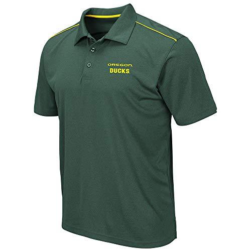 Mens Oregon Ducks Eagle Short Sleeve Polo Shirt - 2XL