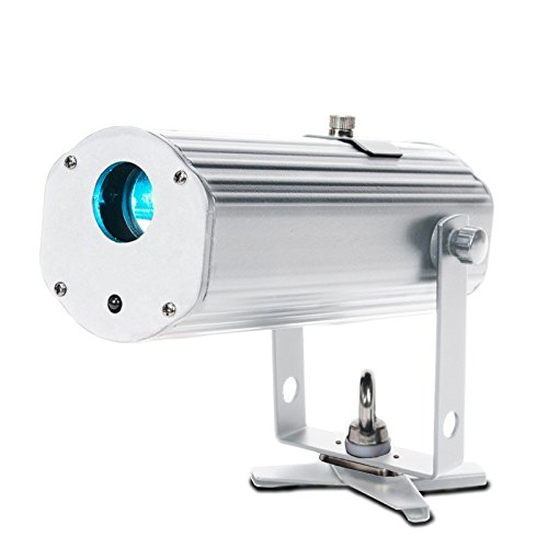 American DJ Pinpoint Gobo Color | 10W Color Battery Powered LED Pinspot Gobo Projector