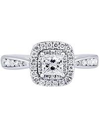 14K Gold 3/4 Carat Natural Diamond Ring (G-H Color, I1-I2 Clarity) Royal Diamond Bridal Ring