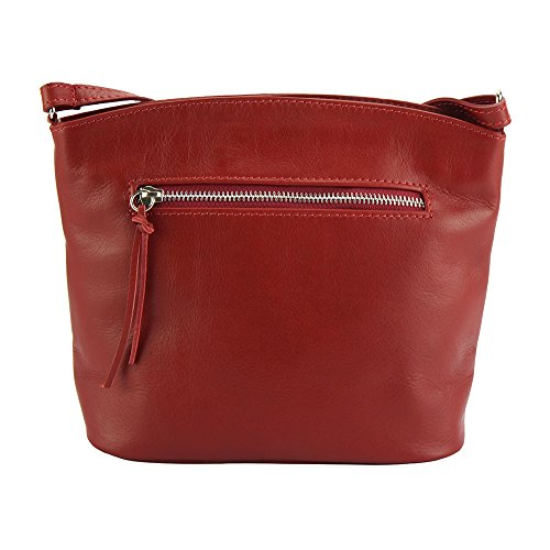Vachette Rouge Market Bandoulière À De Sac En 6119 Leather Clair Arianna Florence Cuir Souple 0P8wOknNX