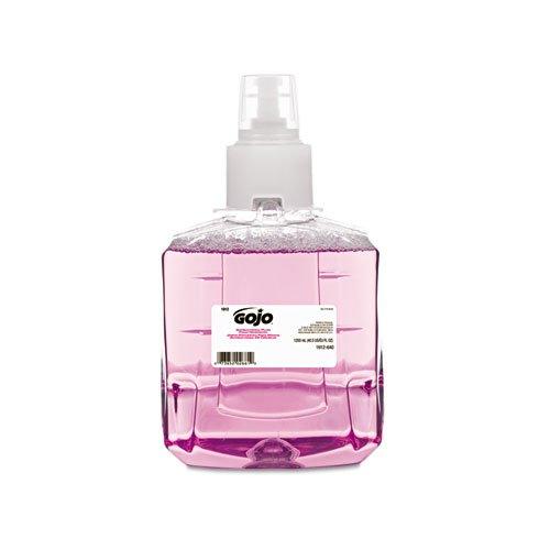 GOJO 1912-02 Antibacterial Plum Foam Hand Refill, Single Unit, 1200 - Extract Refill Skin Moisturizer Pump
