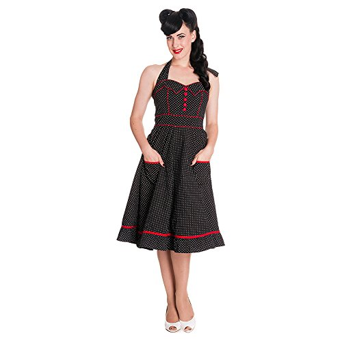 Hell 4114 Bunny Black DRESS Kleid VANITY raUzRrq