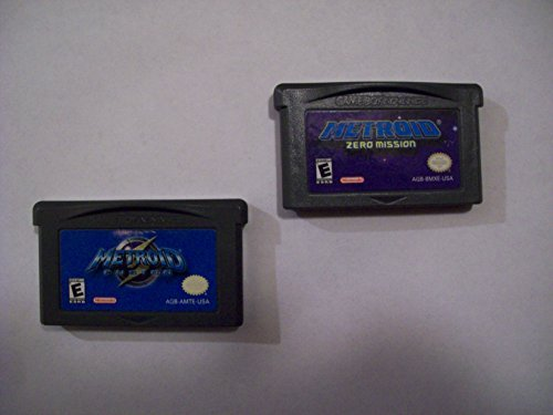 Metroid Fusion Zero Mission Game Set Gameboy Advance