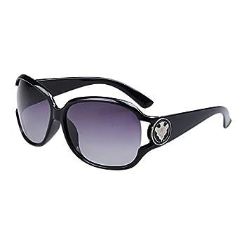 Burenqi Elliptische fahren Sonnenbrille gegen UVA- und UVB-Strahlen, D