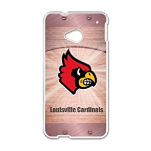 Happy Louisville Gardinals Brand New And Custom Hard Case Cover Protector For HTC One M7