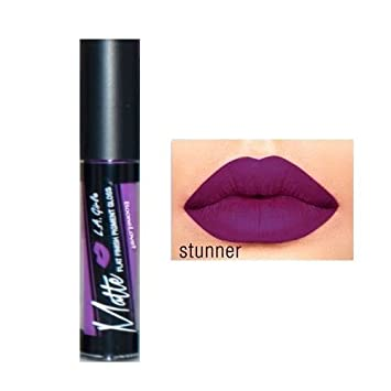 6 Pack L.A. GIRL Matte Pigment Gloss – Stunner