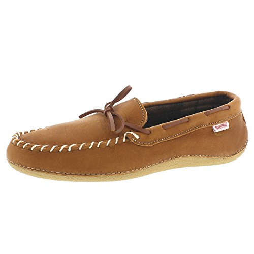 Softmoc Mens Gary Rutete Foret Moccasin Bark