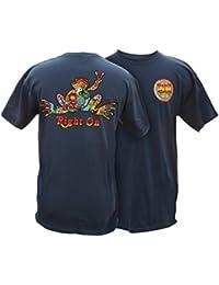 Button Frog Adult Short Sleeve T-Shirt