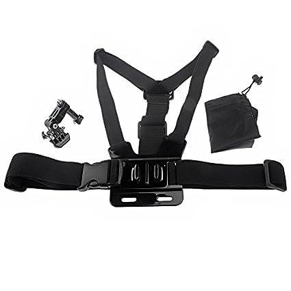 RavTech (TM) elástico cuerpo pecho arnés correa cinturón de ...
