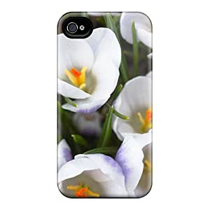 Dana Lindsey Mendez WsGOUdQ8149KoEVp Case For Iphone 4/4s With Nice The White Crocus Appearance