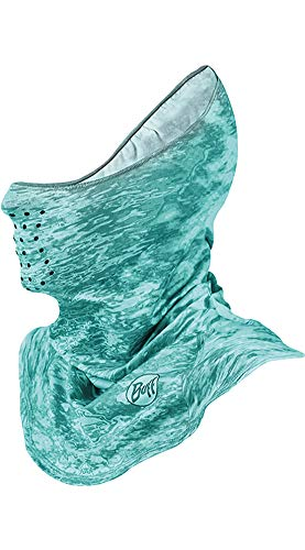 Buff UVX Face Mask,One Size,Pelagic Camo Tropical by Buff (Image #1)