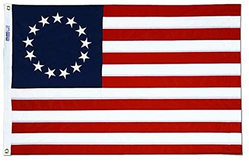 Betsy Ross 3 X 5 American Flag 13 Stars ()