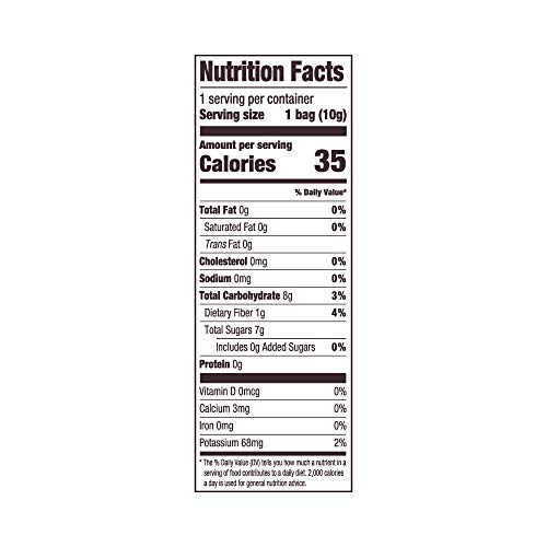 Crispy Green Freeze-Dried Fruits, Non-GMO, Gluten Free, No Sugar Added, Fruit, Apple (12 Count of 0.35 oz Packets), 4.2 oz (Packaging May Vary)