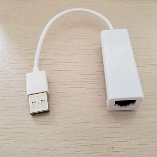 Cable Length: 10cm, Color: White ShineBear Ethernet LAN Wired Network Card Converter USB 2.0 to RJ45 Adapter 10//100Mbps Free Driver for MAC//Win XP//Vista//7//8 System