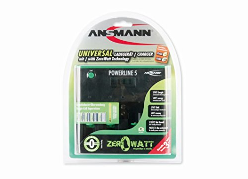Ansmann 5207463-us Zero Watt 5 Battery (15 Min Nimh Charger)