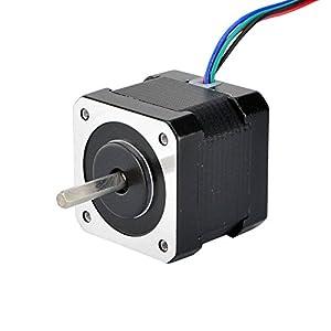 Stepper Motor Nema 17 Bipolar 40mm 64oz.in(45Ncm) 2A 4 Lead 3D Printer Hobby CNC from OSM Technology Co.,Ltd.