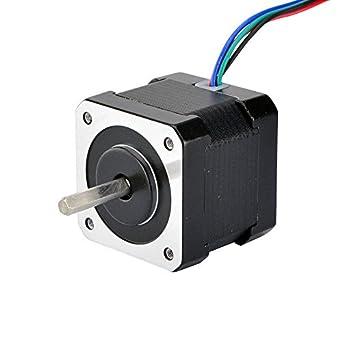 Amazon.com: Motor paso a paso Nema 17 bipolar 40 mm 64 oz ...