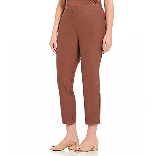 講堂音声状況(アイリーンフィッシャー) Eileen Fisher レディース ボトムス?パンツ クロップド Plus Slim Ankle Pants [並行輸入品]