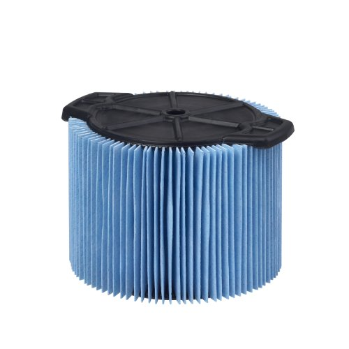 WORKSHOP Wet Dry Vac Filter WS12045F Fine Dust Wet Dry Vacuum Filter (Single Shop Vacuum Cleaner Filter Cartridge) For WORKSHOP  3-Gallon to 4-1/2-Gallon Shop Vacuum Cleaners by WORKSHOP Wet/Dry Vacs