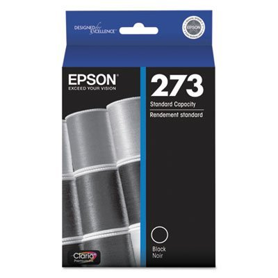 T273020 (T-273) Claria Ink, 250 Page-Yield, Black, Sold as 1 Each
