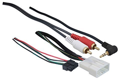 Metra 70-8114 Steering Wheel Control Wire Harness with RCA for 2003-Up Select Toyota/Scion/Lexus Vehicles (Steering Wheel Controls Adapter compare prices)