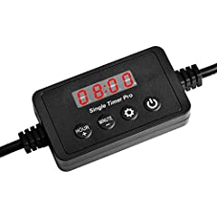 Aquarium light connected to the NICREW Aquarium Single Ramp Timer Pro simulates a gradual sunrise and sunset in 15 minute or 30 minutes to prevent stressful light shock experienced when aquariums transition from complete darkness to full brig...