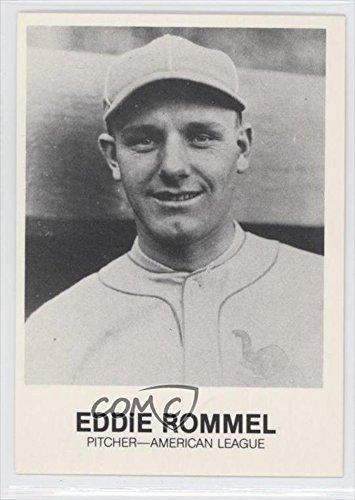 Eddie Rommel Baseball Card 1977 84 Tcma Renata Galasso 196